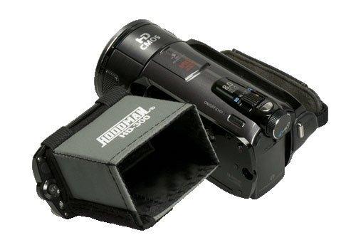 Hoodman HD-300VIDEO Hood for 2.5-Inch to 3-Inch 16x9 HD LCD -