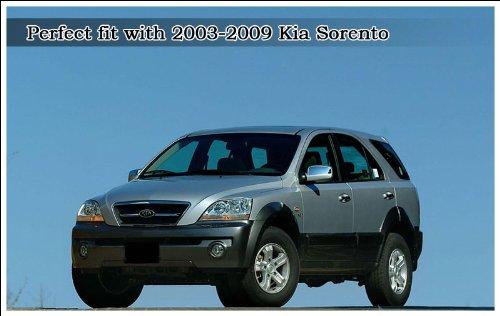 Kia Motors brazo de limpiaparabrisas trasera + hoja 2pieza 1set para 2003 2004 2005 2006 2007 2008 2009 Kia Sorento: Amazon.es: Coche y moto