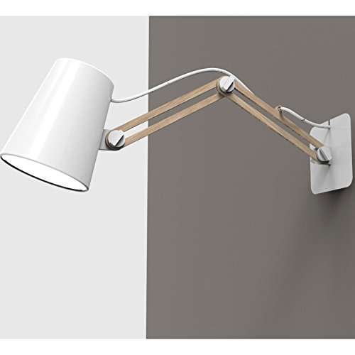 Mantra Lighting LOOKER3773 Wall Lite, Small, White Aluminum by Mantra Lighting