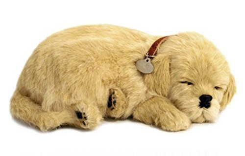 Perfect Petzzz Huggable Breathing Puppy Dog Pet Bed Golden Retriever by Perfect Petzzz (Image #1)