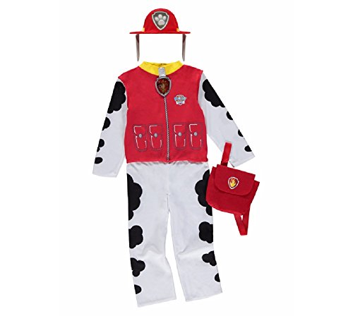 New George Paw Patrol Marshall Childrens Fancy Dress Costume Outfit [3-4]