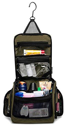 3b56bde18c6 Medium Size Hanging Toiletry Bag with Detachable TSA Compliant Zipper  Pocket   Swivel Hook