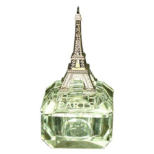 (Souvenirs of France - Paris Eiffel Tower Pillbox in Glass)