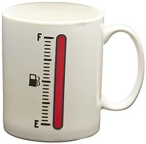 Fred & Friends TANK UP Heat-Sensitive Color Changing Fuel Gauge Mug