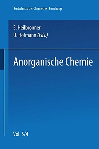 Anorganische Chemie (Topics in Current Chemistry) (German Edition) Weiss Calcium