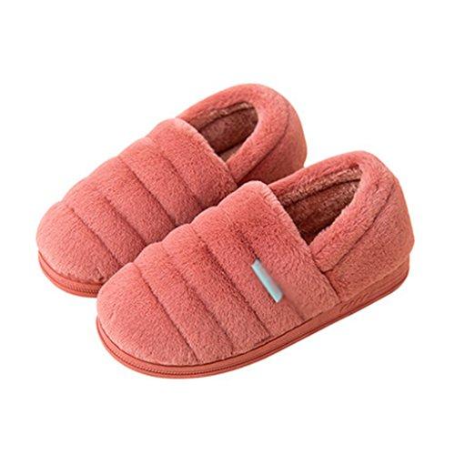 Chaussons Pantoufle Hiver Coton Rembourré Mignon Maison Tout Compris avec les Chaussures Intérieures Antidérapantes Chaudes (Couleur : Pattern 2, Taille : EUR:40-41)