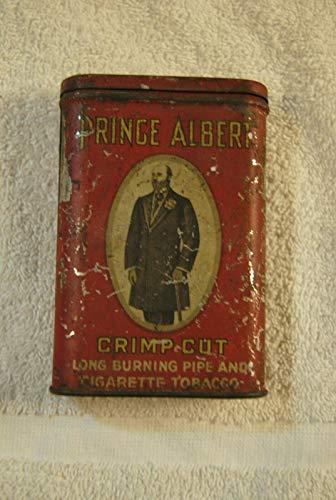 (Prince Albert TOBACCO VERTICAL POCKET ADVERTISING TIN 1907)