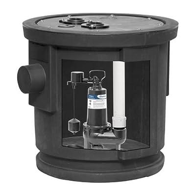 ProFlo PF93026 1/2 HP Simplex Sewage Pump Kit - Pump Includes Vertical Switch,