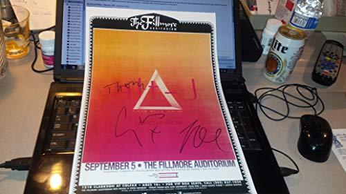 ALT - J signed Denver Fillmore Auritorium 11x17