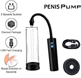 Power Superior Vacuum Suction Pump for Men,Electric Effective Pens Massage