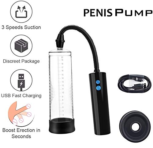 Pēnnìs Pump Electric Men High-Vacuum Massager