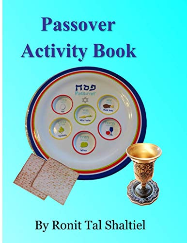 Passover Activity Book: For kids, Coloring,  holiday songs, hidden words game and more.