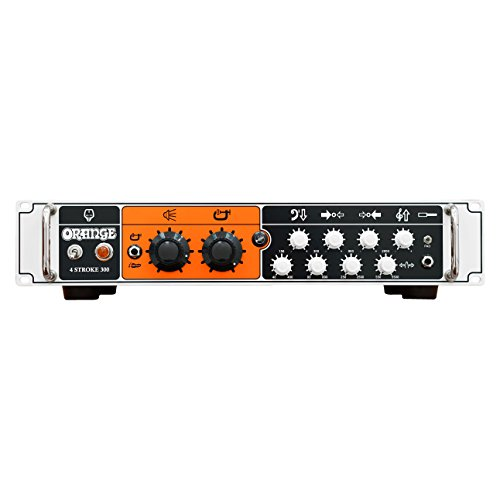 Orange 4 Stroke 300W Class AB Solid State Bass Amplifier Head