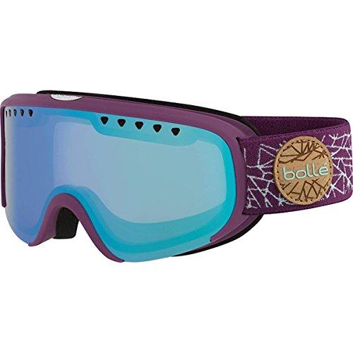 Bolle Scarlett Matte Diamond Aurora Googles, Purple/Mint, One - Googles Bolle