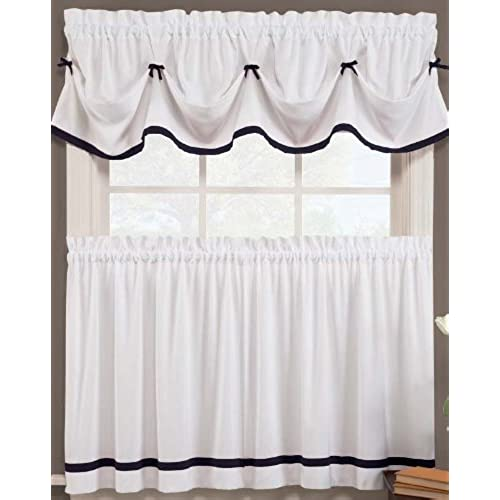 Kate Elegance Kitchen Curtain Set