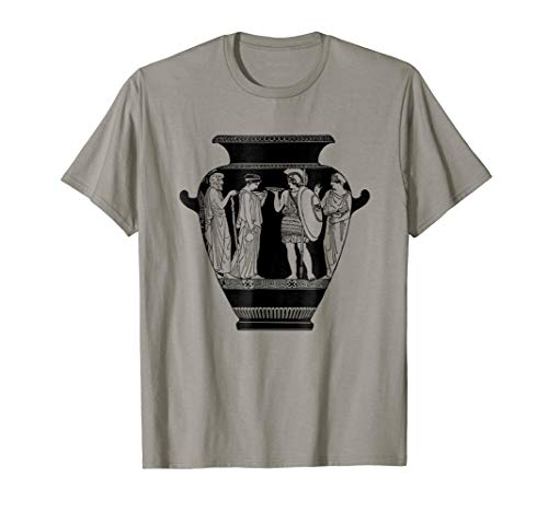 Greek Vase T-Shirt Ancient Greece Pottery Graphic -
