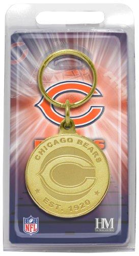 (NFL Chicago Bears Bronze Bullion Keychain)