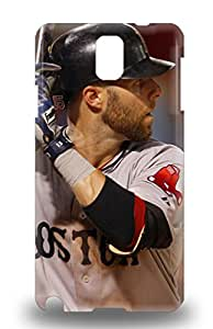 New Design On MLB Boston Red Sox Dustin Pedroia #15 Case Cover For Galaxy Note 3