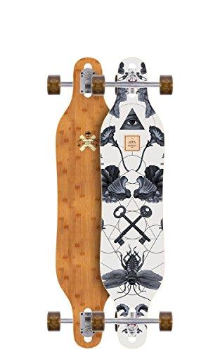 Bamboo Complete Longboard Skateboard (Arbor Axis Bamboo Series Longboard Complete)