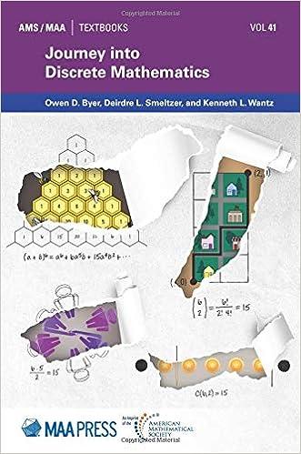 Journey into Discrete Mathematics (AMS/MAA Textbooks): Owen