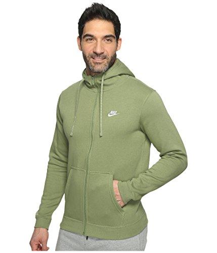 Nike Sportswear Mens Felpa Grün (verde Palma / Palm Verde / Bianco)