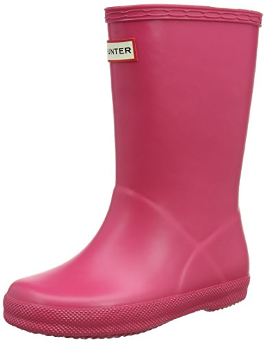 Hunter Unisex-Kinder First Classic Gummistiefel Pink (Bright Pink Rbp)