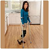 Days Forearm Crutches - Tall Adult, height adjusts 32.75''-43.75'', weighs 4 lbs. 12 oz. (pair)