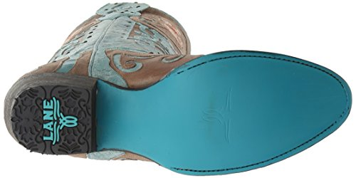 Stivali Da Sera Donna Anabella Western Boot Turchese