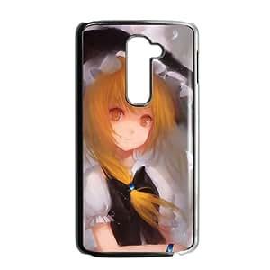 Marisa Kirisame Touhou Project Anime2 LG G2 Cell Phone Case Black Customized Toy pxf005_9678647