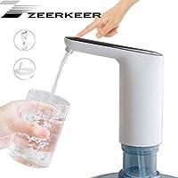 Waterfles, elektrische oplader, waterdispenser, ingebouwde 1200 mAh oplaadbare batterij, aanraakschakelaar met USB…