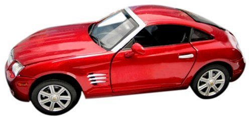 Solido 1/18 Scale Diecast - 8146 Chrysler Crossfire 2002 Red B0009WY2YE