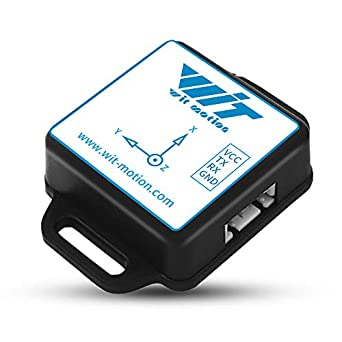 WitMotion BWT901CL Bluetooth mpu9250  Gyro+Accelerometer(+-2g/4g/8g/16g)+Angle+Magnetometer,9-Axis Digital  Compass (TTL,200HZ Output),Triple-Axis Tilt