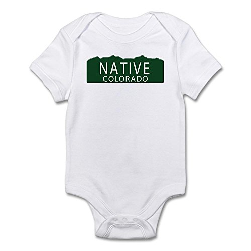 CafePress - Native Colorado Infant Bodysuit - Cute - Colorado Native