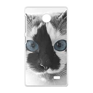 Cute Cat With Blue Eyes Phone Case for Nokia Lumia X