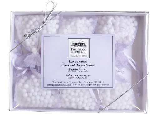 The Good Home Co. Closet and Drawer Sachets, Lavender