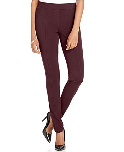 Style & co. Stretch Seam-Front Ponte Leggings (Large, Rhone)