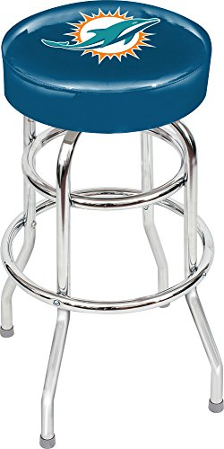Imperial Officially Licensed NFL Furniture: Swivel Seat Bar Stool, Miami Dolphins (Furniture Miami Cheap)