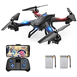 SNAPTAIN S5C WiFi FPV Voice Control Drone with 720P HD Camera,