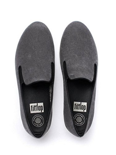 Super Mocassini Da Donna Fitflop - Nero, Nero, 38