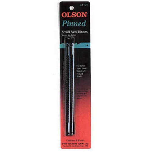 Olson Saw FR41001 Pin End Scroll Saw Blade (Olson 5 Scroll Saw Blades)