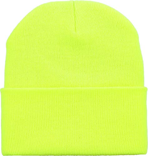 SKIHAT-Long NYEL Thick Beanie Skully Slouchy & Cuff Winter Hat Made in USA