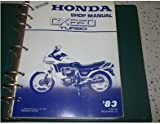1983 83 HONDA CX650 TURBO CX 650 Service Shop Repair Manual OEM DEALERSHIP X