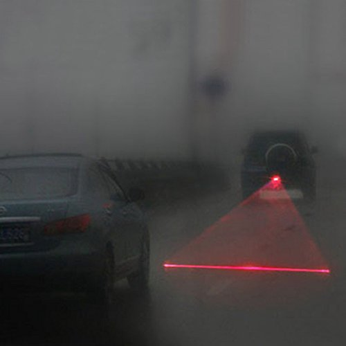 CLKJDZ Anti Collision Rear-end Car Laser Tail 12v Led Car Fog Light Auto Brake Auto Parking Lamp Rearing Car Warning Light Car Styling
