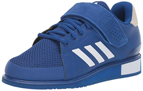 adidas Men's Power Perfect III. Cross Trainer, White/Collegiate Royal, 10.5 M US ()