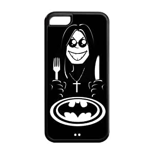 Fashion Black Sabbath Hard Shell TPU Rubber Phone Case Cover for iPhone 5C
