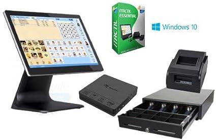 TPV táctil completo + cajón + impresora 58mm + software: Amazon.es: Informática