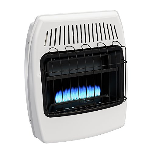 Gas Manual Vent - Dyna-Glo BF20NMDG 20,000 BTU Natural Gas Blue Flame Vent Free Wall Heater