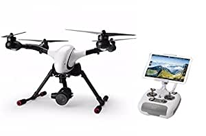 Walkera Voyager 4 Drone Quadcopter RTF4 (F8W radio,battery, 4K 18x optical zoom camera,charger, aluminum case & 4G transmission) - Includes Aluminum Carry Case