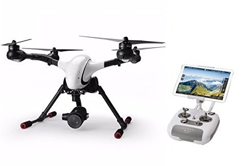 Walkera Voyager 4 Drone Quadcopter RTF4 (F8W radio,battery, 4K 18x optical zoom camera,charger, aluminum case & 4G transmission) - Includes...
