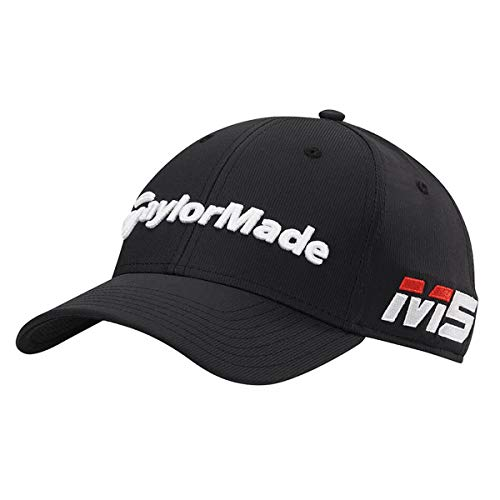 TaylorMade Golf 2019 Mens Performance Tour Radar M5/TP5 Adjustable Golf Cap Black